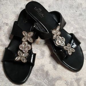 SBICCA Slides with Bling Size 7.5
